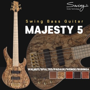 Swing Guitar MAJESTY 시리즈 베이스기타 MAJESTY 5