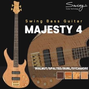 Swing Guitar MAJESTY 시리즈 베이스기타 MAJESTY 4